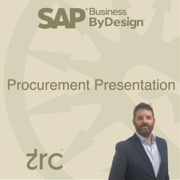 SAP Business ByDesign Procurement Presentation – October 2021